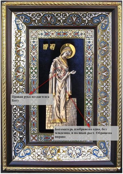 Икона Божья Мать
