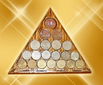 Талисман на деньги «Магический треугольник богатства&raquo
